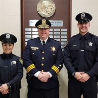 Police Department Welcomes New Officers
