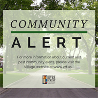 River Forest Community Alert