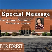 A Special E-News Message from the Village President, Catherine M. Adduci