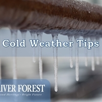 Cold Weather Tips - Prevent Frozen Pipes