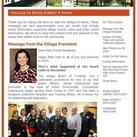 January 2019 E-News Now Available!