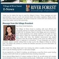 March 2020 E-News Now Available!