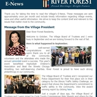 October 2019 E-News Now Available!