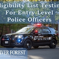 Eligibility List Testing for Entry Level  Police Officers