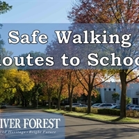 Updated Safe Walking Routes to School Draft Plan Now Available